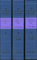 All England Law Reports Consolidated Tables and Indexes (1936 - 2009)