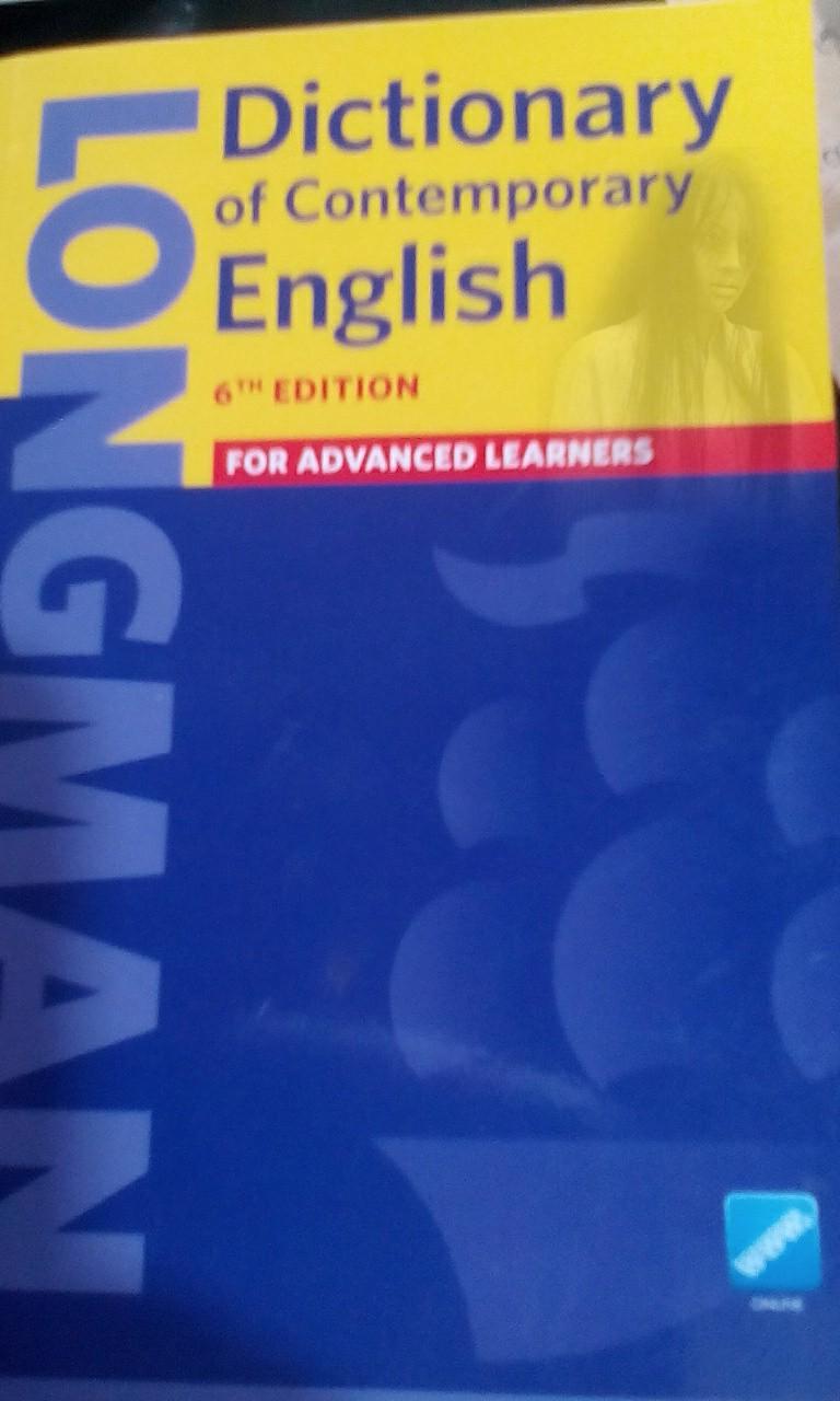 longman contemporary dictionary 6th edition