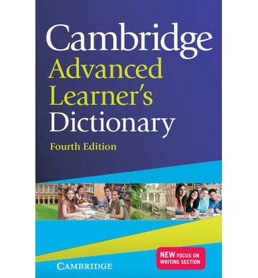 Cambridge Advanced Learners Dictionary