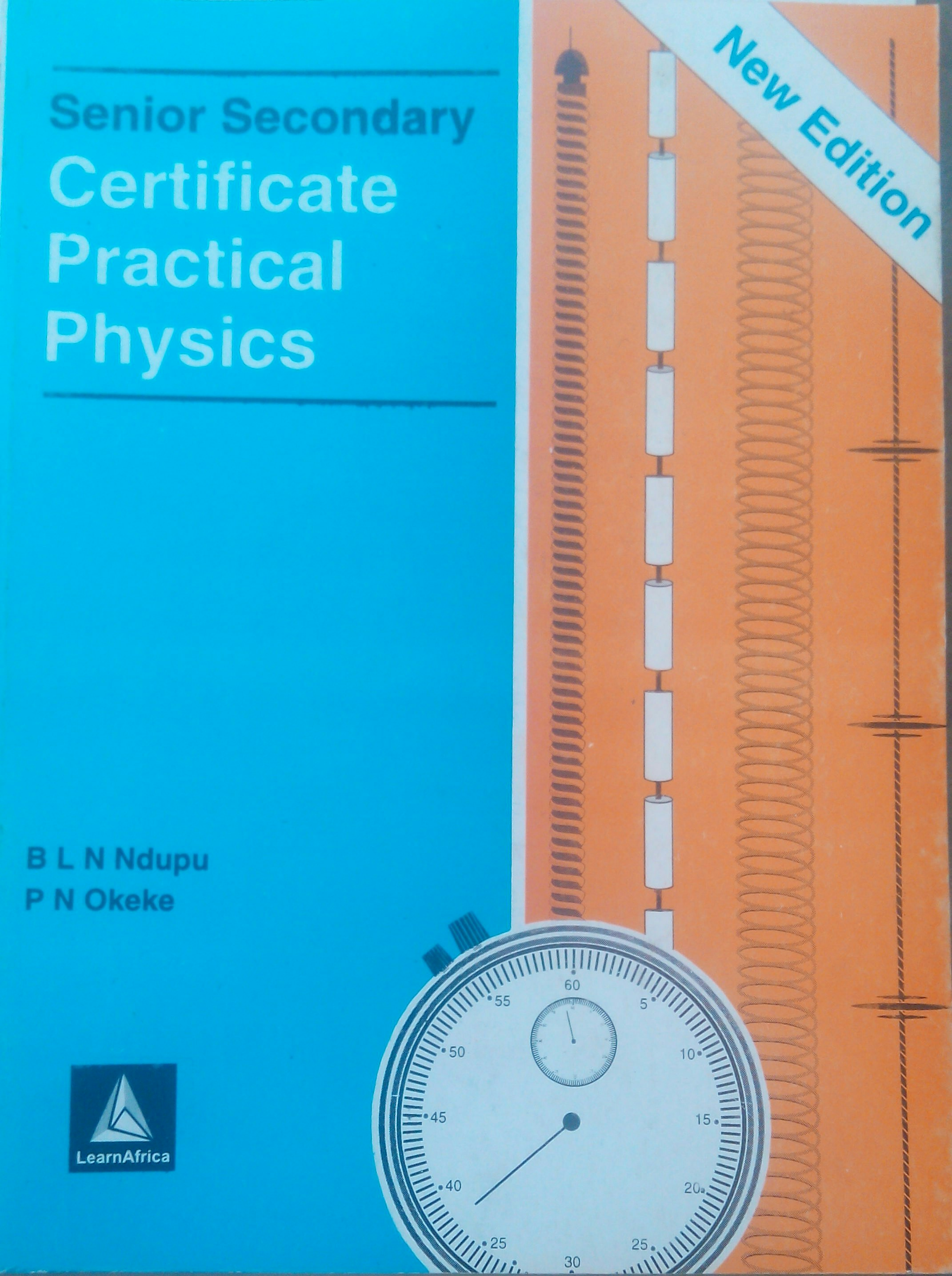Senior Secondary Certificate Practical Physics